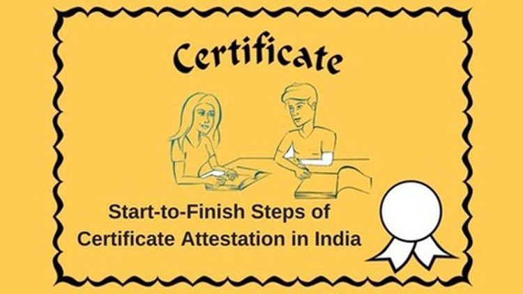 Important NRI Certificate Required for Attestation before Applying Visa
